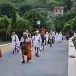 ingresso a Villa Giulia per cerimonia