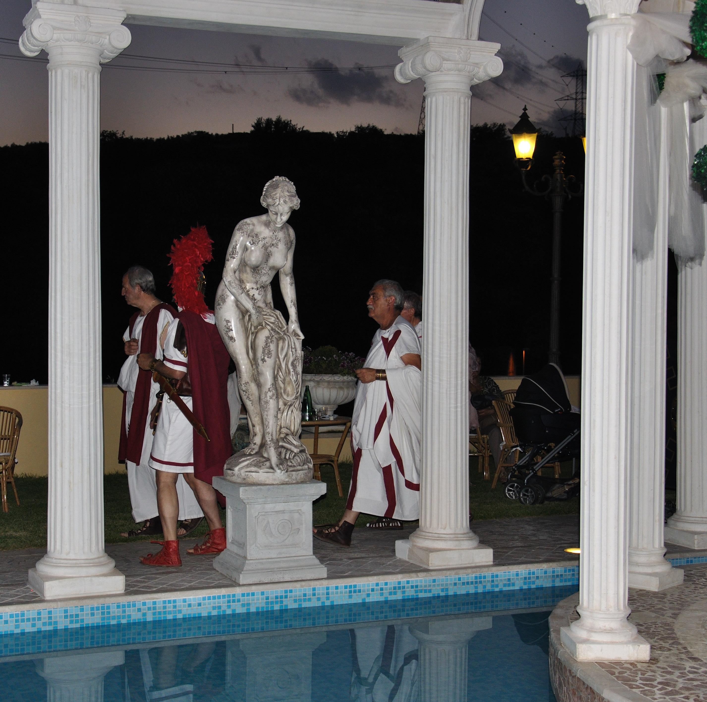 Villa giulia 26 5 2011 villa adriana nostra for Aggiornare le colonne del portico