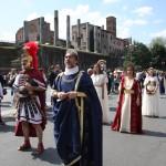 passeggiata in Via dei Fori a Roma 2011