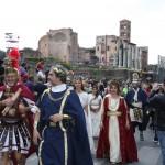 Corte di Adriano in Via dei Fori - Roma 2011