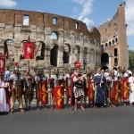 Roma 2011 al Colosseo