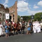 Gruppo Storico Publio Elio Adriano al Colosseo - Roma 2011
