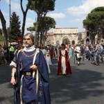 Adriano e corte a Roma 2011