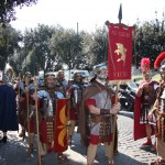 Legionari della VI VIC pronti per la sfilata a Roma 2011