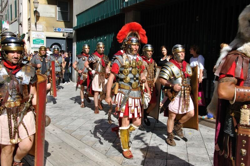 legio XIII al corteo di Tivoli