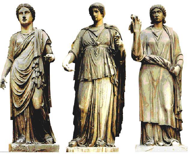 Moda e costumi femminili dell'antica roma