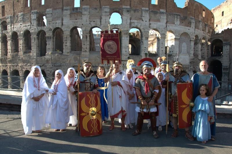 """CASTRA PACTUM """"IL MITO DI ROMA"""""""