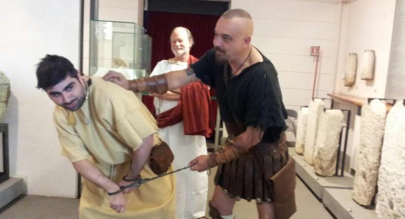 """""""la schiavitù: l'altra faccia di Roma"""""""